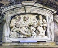 Monument Peter Paul Luke Santa Maria Via Lata Churc för hus för Luke ` s Royaltyfria Bilder