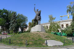 Monument Petr Sagaydachnyy, Kiev Royalty Free Stock Photos