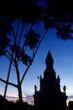 Monument Phnom Penh, Kambodja Royalty-vrije Stock Afbeeldingen