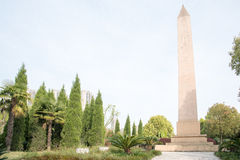The monument Stock Image