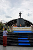 Monument of Phraya Phichai Dap Hak (Phraya Phichai of the broken Royalty Free Stock Photography
