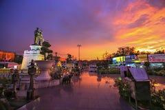 Monument Phuket Thailand. Royalty Free Stock Photos