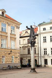 The monument of Piotr Skarga in Krakow Stock Photo