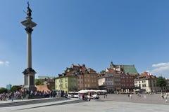 Monument of Polish King Waza Royalty Free Stock Photos