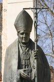 Monument of Pope John Paul II, Krakow, Poland Stock Images