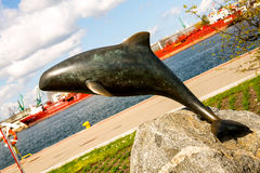 Monument porpoise Royalty Free Stock Photo