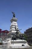 Monument in Porto Lizenzfreies Stockfoto