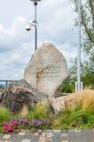 Monument pour des défenseurs de la côte à 1939 Images libres de droits