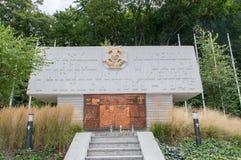 Monument pour les scouts qui sont tombés dans la bataille avec les envahisseurs nazis photo stock