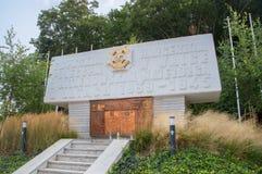 Monument pour les scouts qui sont tombés dans la bataille avec les envahisseurs nazis photos libres de droits