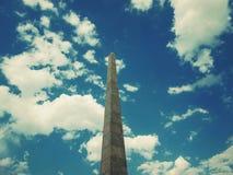 Monument pour les soudures tombées Images stock
