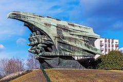 Monument pour polir le soldat Photographie stock libre de droits