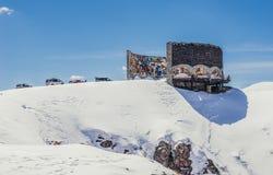 Monument près de Guduari Image libre de droits