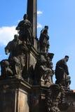 Monument In Prague Stock Photo