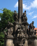Monument In Prague Royalty Free Stock Photography
