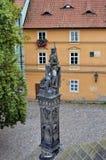 Monument in Prague stock photos