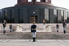Monument Presantation Royaltyfri Bild