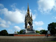 Monument Prince Albert in London. Stock Photo