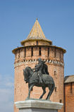 Monument of Prince Dmitry Donskoy Stock Image