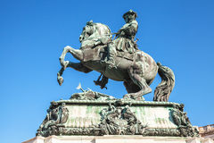 Monument of Prince Eugene of Savoy, Vienna Royalty Free Stock Photo