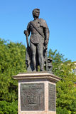 Monument of prince Grigory Potemkin-Tavricheski in Kherson Stock Image