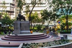 Monument of Prince Mahidol Adulyadej Memorial statue at Siriraj Hospital in Bangkok, Thailand. royalty free stock images