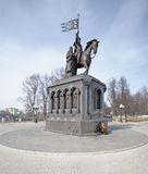 Monument of Prince Vladimir at Vladimir Royalty Free Stock Photography