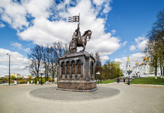 Monument of Prince Vladimir in Vladimir. Russia Stock Image