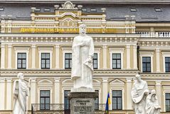 Monument of Princess Olga Stock Photography