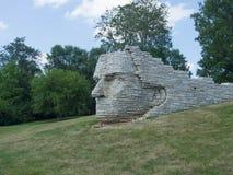 Monument Profile Of Leatherlips Royalty Free Stock Image