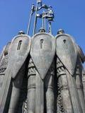 Monument in Pskov Alexander Nevsky Royalty Free Stock Photo