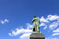 Monument of Pushkin Royalty Free Stock Photography