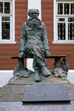 Monument of Pyotr Kropotkin in Dmitrov, Russia Stock Photos