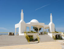 Monument in quarteira Royalty Free Stock Photo