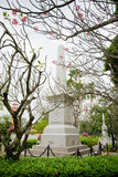 Monument of Queen Sunanta, King Rama V`s royal consort, and thei Royalty Free Stock Image