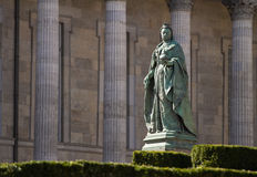 Monument of Queen Victoria Stock Images