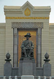 Monument of Rama I in Bangkok Stock Photo