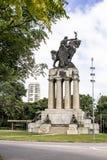 Monument Ramos de Azevedo Stockbilder