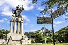 Monument Ramos de Azevedo Stockfotografie