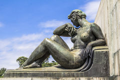 Monument Ramos de Azevedo Stock Photography
