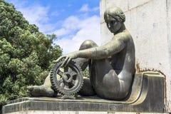Monument Ramos de Azevedo Royalty Free Stock Photography