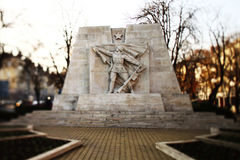 Monument of Red army royalty free stock photography