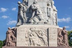 Monument in Riga Stock Photos