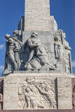 Monument in Riga Royalty Free Stock Photography