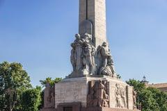 Monument in Riga Stock Photo