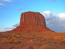 Monument Rock, 2003. Summer sunset on a Monument Valley rock Stock Images