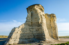 Monument Rock Chalk Pyramids Stock Image
