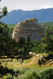 Monument Rock in Colorado Stock Photos