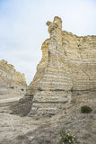 Monument rock formation,Kansas USA Royalty Free Stock Image