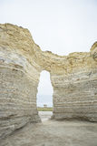 Monument rock formation,Kansas USA Stock Image